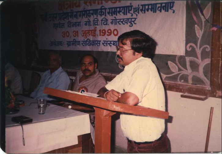 Shri GC Pandey, Addressing the participants