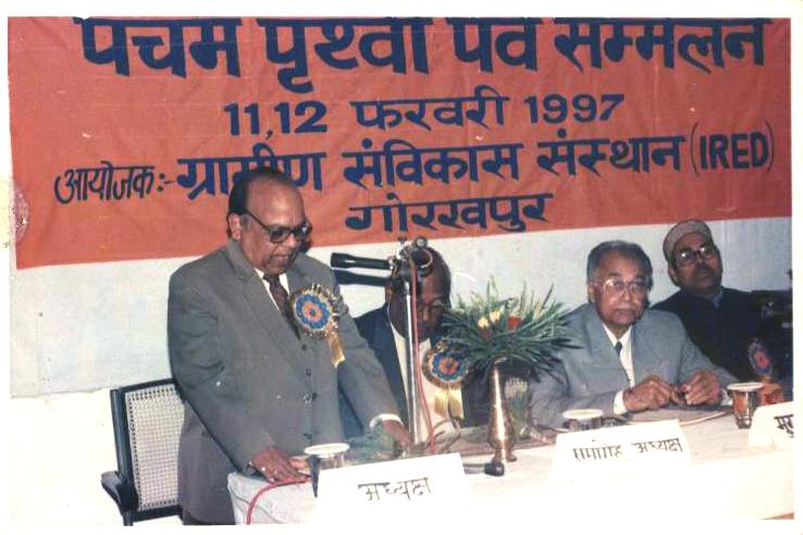 Prof. V.K. Srivastava, Addressing Participants