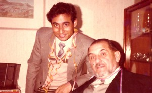 Prof. K.N. Singh with Prof. K.H. Hottes in Germany on eve of New Year